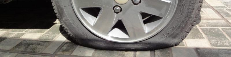 ¿Se te ha pinchado alguna vez una rueda?
